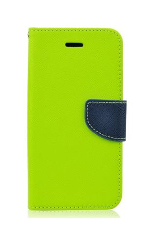 Pouzdro TopQ Huawei Y7 knížkové limetkové 21314 (kryt neboli obal na mobil Huawei Y7)