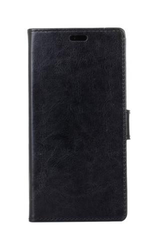 Pouzdro TopQ Lenovo K5 Note knížkové černé koženka 21489 (kryt neboli obal Lenovo K5 Note)