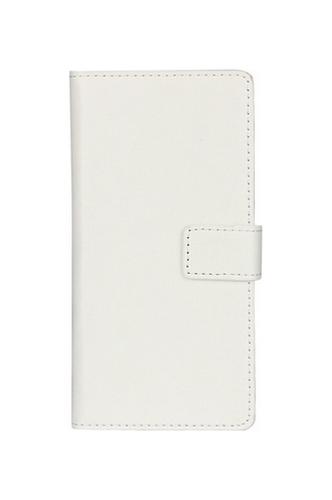 Pouzdro TopQ Honor 6A knížkové bílý koženka 20747 (kryt neboli obal na mobil Honor 6A)