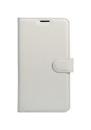 Pouzdro TopQ Honor 6A knížkové bílé s přezkou 21855 (kryt neboli obal Honor 6A)
