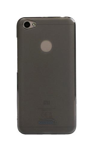 Pouzdro KISSWILL Xiaomi Redmi Note 5A silikon tmavý 21958 (kryt neboli obal na mobil Xiaomi Redmi Note 5A)