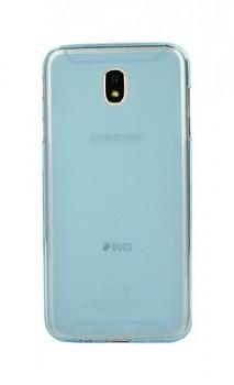 Zadní silikonový kryt na Samsung J7 2017 modrý průhledný