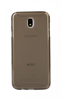 Zadní silikonový kryt na Samsung J7 2017 tmavý průhledný