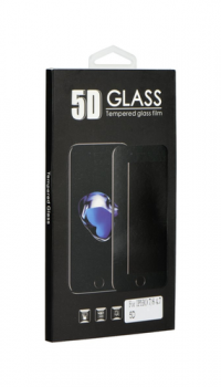 Tvrzené sklo BlackGlass na iPhone 7 5D bílé