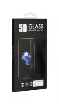 Tvrzené sklo BlackGlass na iPhone 8 5D červené