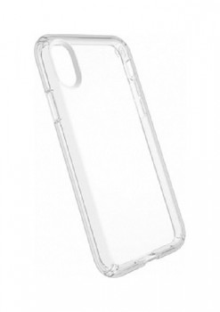 Ultratenký silikonový kryt na iPhone X 0,5 mm průhledný