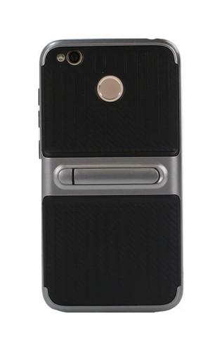 Pouzdro TopQ Xiaomi Redmi 4X Kickstand šedé 22578 (kryt neboli obal Xiaomi Redmi 4X)