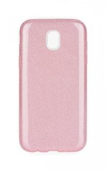 Zadní silikonový kryt Forcell na Samsung J5 2017 glitter růžový