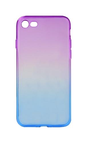 Pouzdro Forcell iPhone 7 silikon duhový fialový 22784 (kryt neboli obal na mobil iPhone 7)