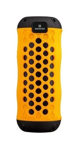 Outdoorový bluetooth reproduktor Swissten X-BOOM oranžový 22793
