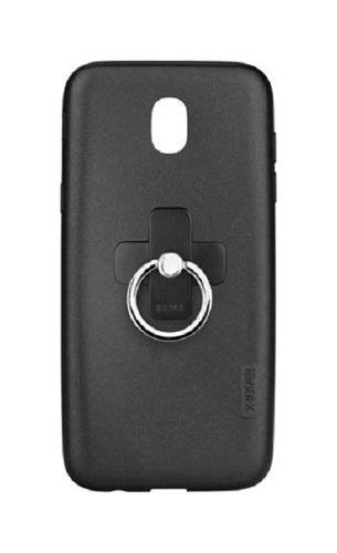 Pouzdro X-LEVEL Samsung J3 2017 silikon černý s prstenem 22910 (kryt neboli obal na mobil Samsung J3 2017)