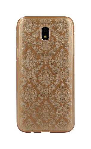 Pouzdro TopQ Samsung J5 2017 silikon Retro zlatý 22948 (kryt neboli obal na mobil Samsung J5 2017)