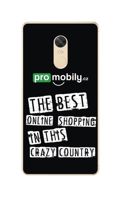 Pouzdro TopQ Xiaomi Redmi Note 4 Global silikon ProMobily.cz 23828 (kryt neboli obal na mobil Xiaomi Redmi Note 4 Global)