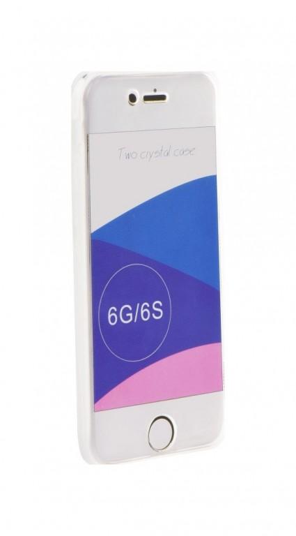 Pouzdro Forcell iPhone 6 / 6s silikon přední+zadní průhledný 24065 (kryt neboli obal iPhone 6 / 6s) Miss Sixty