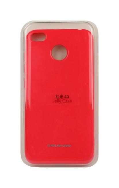 Pouzdro Molan Cano Jelly Xiaomi Redmi 4X silikon růžový 24105 (kryt neboli obal na mobil Xiaomi Redmi 4X)