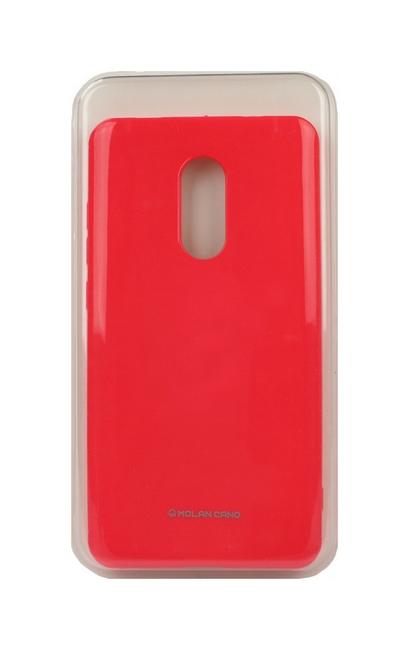 Pouzdro Molan Cano Jelly Xiaomi Redmi Note 4 Global silikon růžový 24120 (kryt neboli obal na mobil Xiaomi Redmi Note 4 Global)