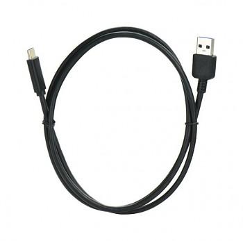 Datový kabel USB-C (Type-C) 1 m černý