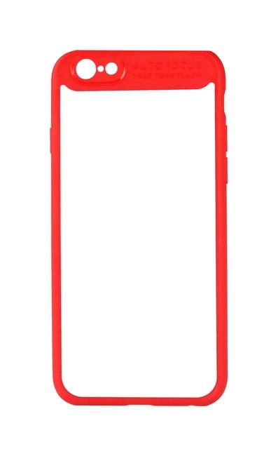 Pouzdro Baseus iPhone 7 pevné s rámečkem červené 24354 (kryt neboli obal na mobil iPhone 7)