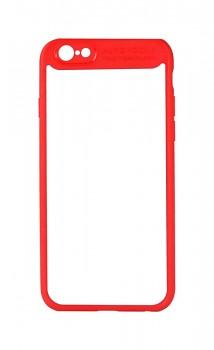 Zadní pevný kryt Baseus na iPhone 7 s rámečkem červený