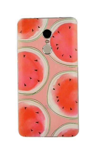 Pouzdro TopQ Xiaomi Redmi Note 4 Global 3D silikon melouny 24667 (kryt neboli obal na mobil Xiaomi Redmi Note 4 Global)