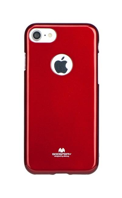 Pouzdro Mercury iPhone 7 silikon červený 24686 (kryt neboli obal na mobil iPhone 7)