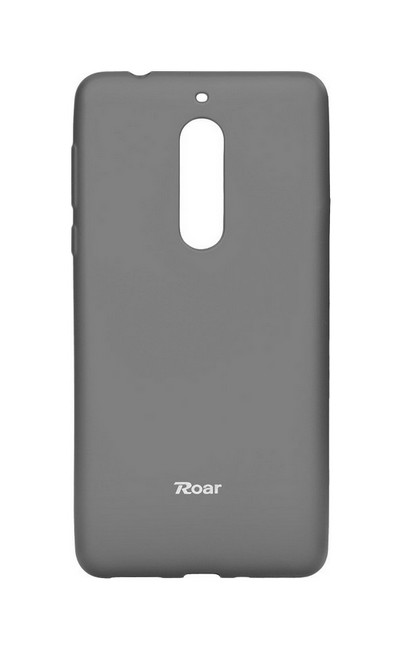Pouzdro Roar Nokia 5 silikon šedé 25242 (kryt neboli obal na mobil Nokia 5)