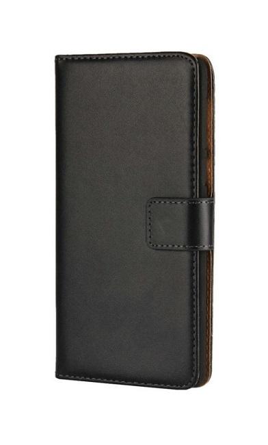 Pouzdro TopQ Honor 6A knížkové černé s přezkou 2 25359 (kryt neboli obal na mobil Honor 6A)