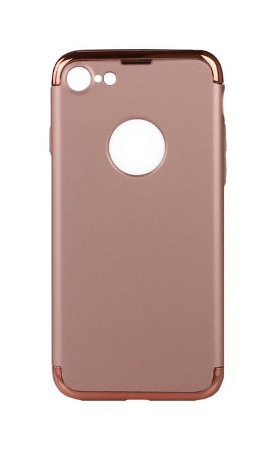 Pouzdro TopQ iPhone 7 s rámečkem růžové 25535 (kryt neboli obal iPhone 7)