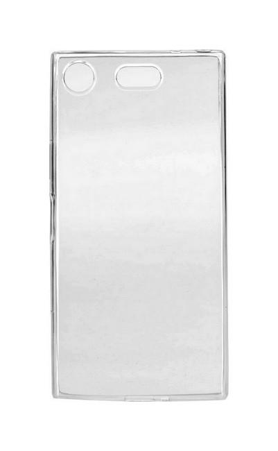 Pouzdro TopQ Sony Xperia XZ1 Compact silikon ultratenký průhledný 0,5 mm 25695 (kryt neboli obal na mobil Sony Xperia XZ1 Compact)