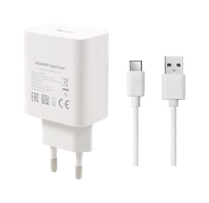 Originální rychlonabíječka Huawei HW-050450E00 + HL1289 USB-C (Type-C) 4,5 A bílá 25860