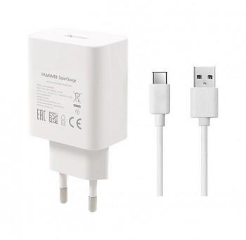 Originální rychlonabíječka Huawei HW-050450E00 včetně USB-C datového kabelu HL1289 4,5A bílá 21W