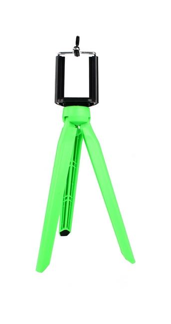 Stativ pro mobilní telefon TopQ Tripod zelený 25876