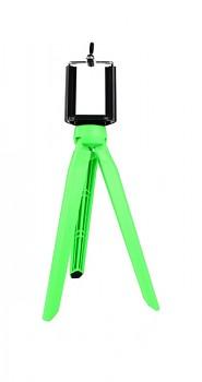 Stativ pro mobilní telefon Tripod zelený
