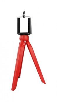 Stativ pro mobilní telefon Tripod červený