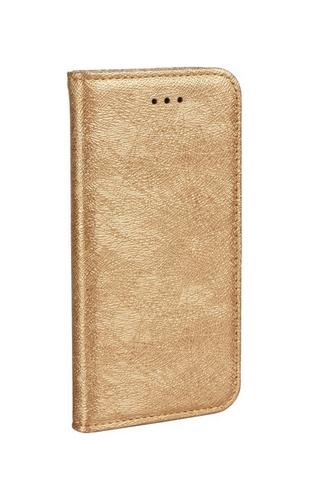 Knížkové pouzdro Magic Book na Samsung A8 Plus 2018 zlaté
