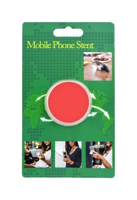 Držák na mobil TopQ PopSockets lososový 26265