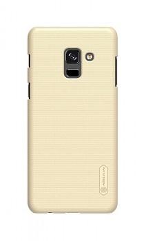 Zadní pevný kryt Nillkin na Samsung A8 Plus 2018 zlatý