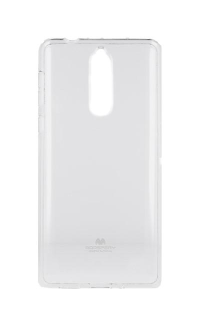 Pouzdro Mercury Nokia 8 silikon průhledný 26581 (kryt neboli obal na mobil Nokia 8)