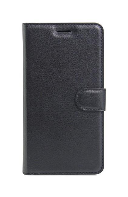 Pouzdro TopQ Doogee X30 knížkové černé s přezkou 26742 (kryt neboli obal Doogee X30)