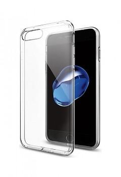 Ultratenký silikonový kryt na iPhone 8 Plus 0,3 mm průhledný