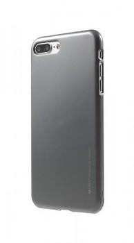 Zadní kryt Mercury iJelly Metal na iPhone 7 Plus šedý