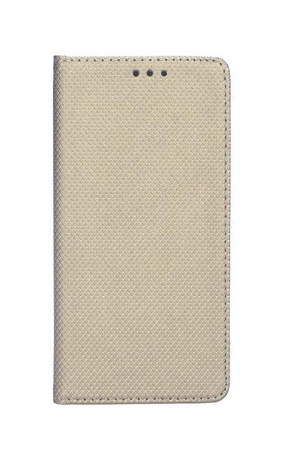 Knížkové pouzdro Smart Magnet na Samsung A8 Plus 2018 zlaté
