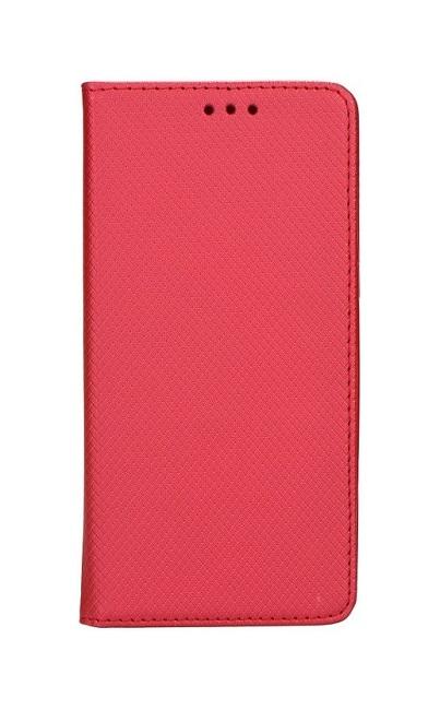 Knížkové pouzdro Smart Magnet na Samsung A8 Plus 2018 červené