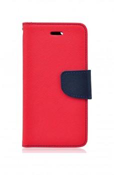 Knížkové pouzdro na Samsung A8 Plus 2018 červené