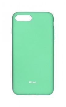 Zadní silikonový kryt Roar na iPhone 8 Plus mentolový