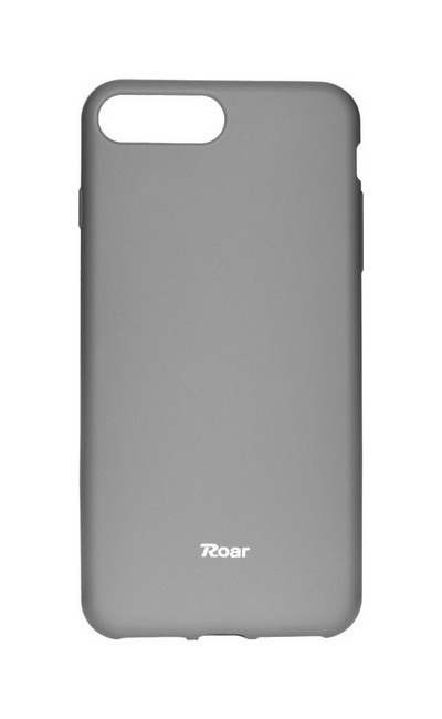 Pouzdro Roar iPhone 8 Plus silikon šedý 27261 (kryt neboli obal na mobil iPhone 8 Plus)