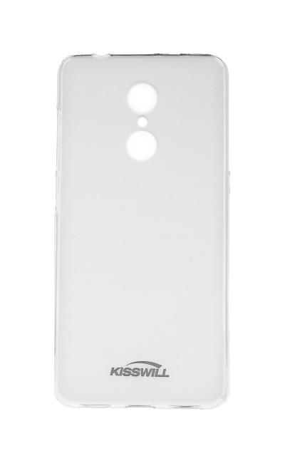 Pouzdro KISSWILL Xiaomi Redmi 5 silikon světlý 27318 (kryt neboli obal na mobil Xiaomi Redmi 5)