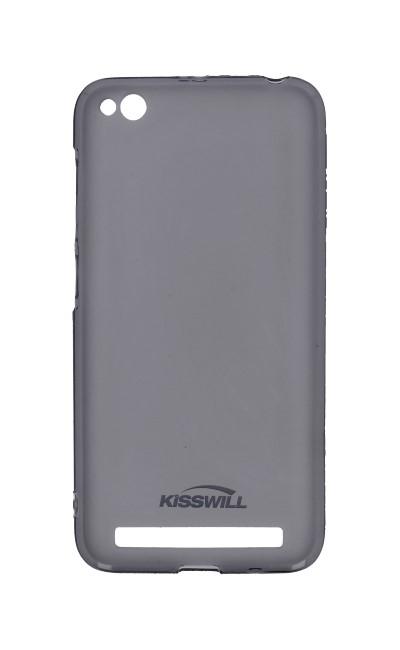 Pouzdro KISSWILL Xiaomi Redmi 5A silikon tmavý 27341 (kryt neboli obal na mobil Xiaomi Redmi 5A)