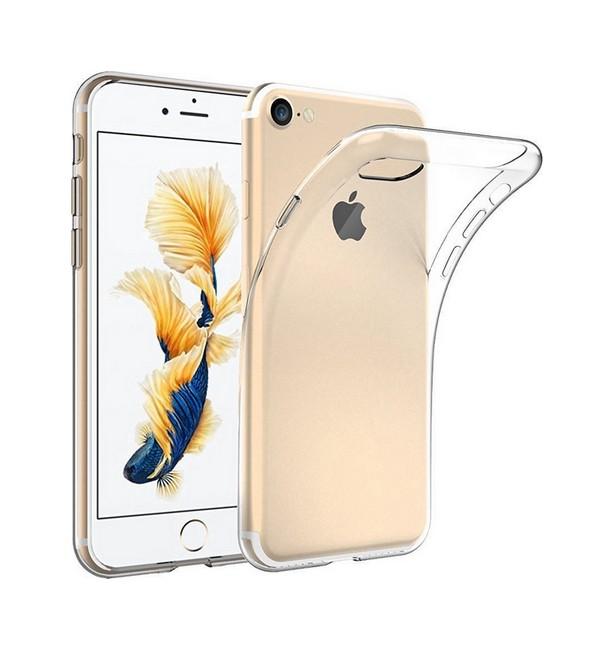 Pouzdro TopQ iPhone 8 silikon ultratenký průhledný 0,5 mm 27358 (kryt neboli obal na mobil iPhone 8)