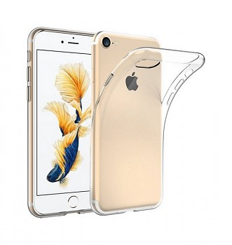 Ultratenký silikonový kryt na iPhone 8 0,5 mm průhledný